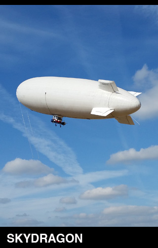 Sky Dragon Airship Surveillance Systems